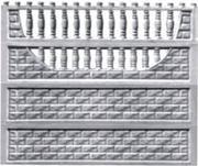 Забор железобетонный секционный - foto 0