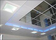 Зеркальные потолки алюминиевые подвесные - foto 1
